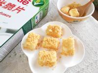焦糖牛奶雪花糕佐脆片【雀巢玉米脆片】