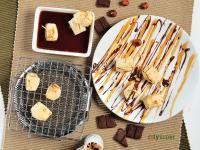 【清酒美食遊】烤麻糬配甜醬油與巧克力堅果