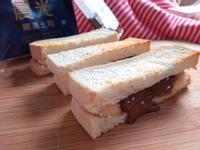 巧克力香蕉三明治-小七野餐趣