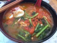 蕃茄海鮮麵(1人份)