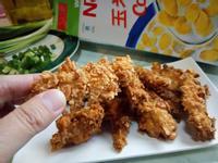 鮮奶玉米脆片炸雞柳『雀巢玉米脆片』
