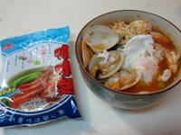 泰式蕃茄海鮮湯麵「記憶中的味味麵」