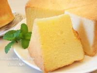 柳橙戚風蛋糕