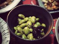 下酒菜:黑胡椒毛豆仁