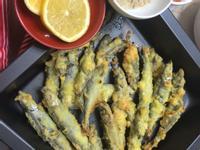 酥炸溪魚 (柳葉魚)