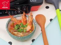 【摩堤_鑄鐵鍋料理】泰式酸辣蝦湯