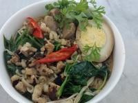 香菇肉燥湯麵「記憶中的味味麵」
