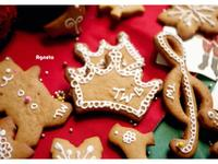 [阿妮塔♥sweet] 聖誕節的薑餅家族