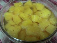 20分鐘完成鳳梨罐頭~糖煮鳳梨