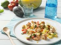 檸香水果鮮蝦沙拉