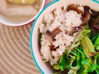 麻油香菇雞飯