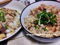 鰹魚醬油燒豚蓋飯