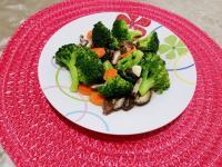 香菇清炒綠花椰菜