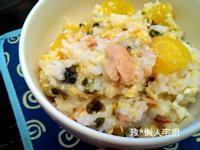 【電鍋X懶人】黃金地瓜鮪魚蛋花粥