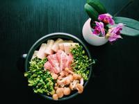 芽菜豬肉壽喜燒