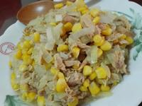 洋蔥炒鮪魚