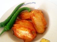 烤咖喱鸡翅