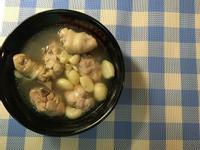 超簡易電鍋版蒜頭雞湯