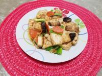 沙茶醬燒豆腐