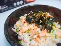 鹽麴鮭魚拌飯