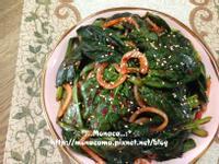 韓式菠菜生泡菜시금치겉절이