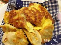酥脆煎蛋餃