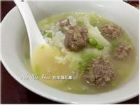 小魚【肉丸子】營養粥