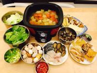 蔬菜海鮮火鍋