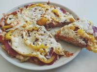 剩飯米pizza(免烤箱)