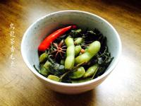 烏龍茶香毛豆