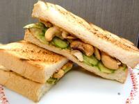 《永新沙拉》堅果三明治~蛋奶素可食