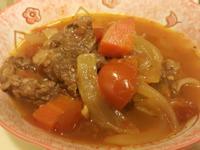番茄燉牛肉湯