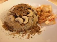 素麻油香菇油飯