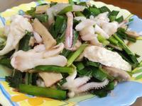 韭菜炒小卷