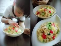 鳳梨雞肉炒飯【蛋炒飯的桌邊故事】