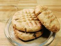 一人份的餅乾 -- 經典美式花生醬餅乾