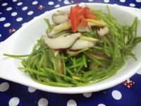 水蓮炒香菇