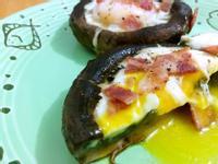 美味流心蛋大啡菇(免焗爐)