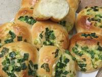 蔥花麵包-麵包機揉麵-毛廚👩🏻🍳