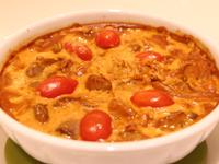 焗烤椰汁紅咖哩豬排