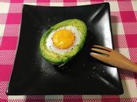 活力早餐~烤酪梨太陽蛋