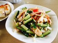 泰式花枝排涼拌小黃瓜