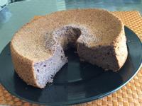 黑米戚風蛋糕