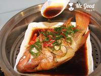 清蒸現撈紅魚【好好鮮生料理廚房】