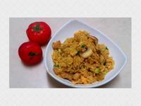 清香~咖哩蘑菇炒飯