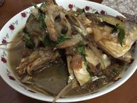 冬瓜豆醬煮虱目魚頭