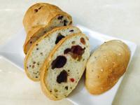 莓果紅藜歐式鄉村麵包(無油無糖)