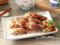 醬燒菇菇豬肉卷【全聯24節氣料理】