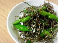 韓式糯米椒炒小魚乾꽈리고추멸치볶음