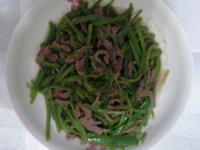青椒炒牛肉絲